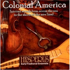 Hesperus - Colonial America CD